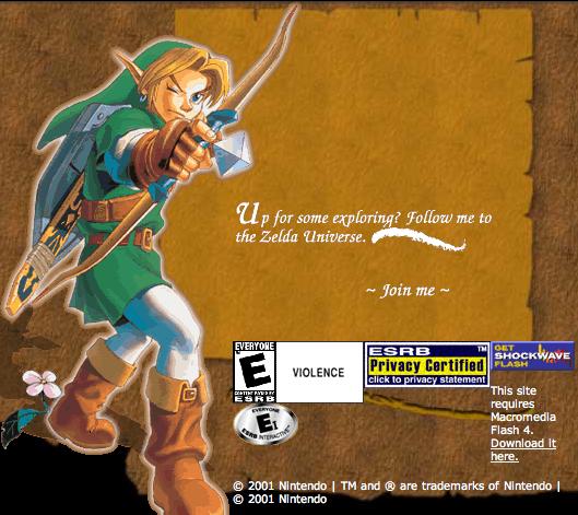 Zelda.com2001