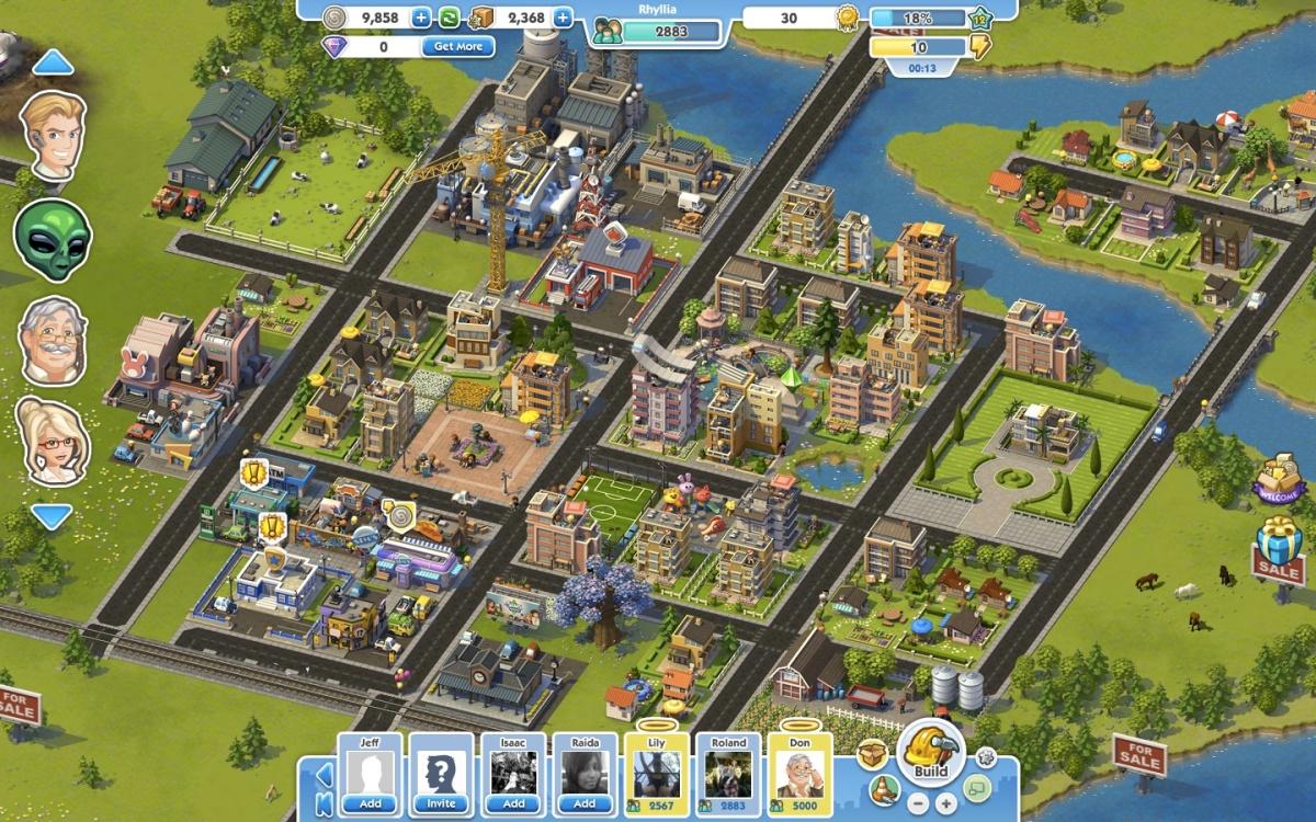 SimCity Social is adisgrace