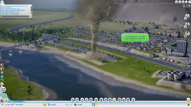 SimCity Tornado