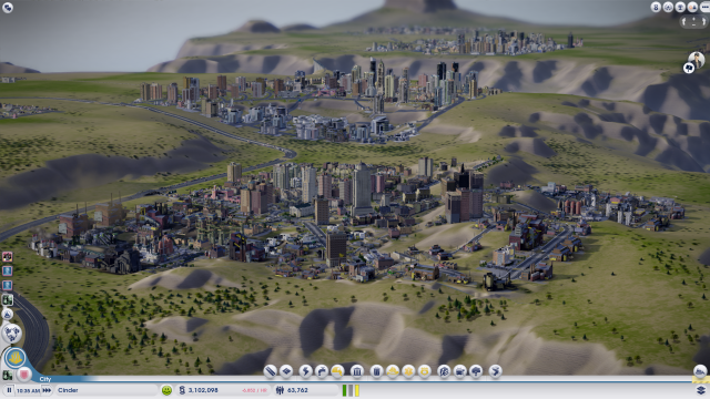 This is why I call the game SimSuburb