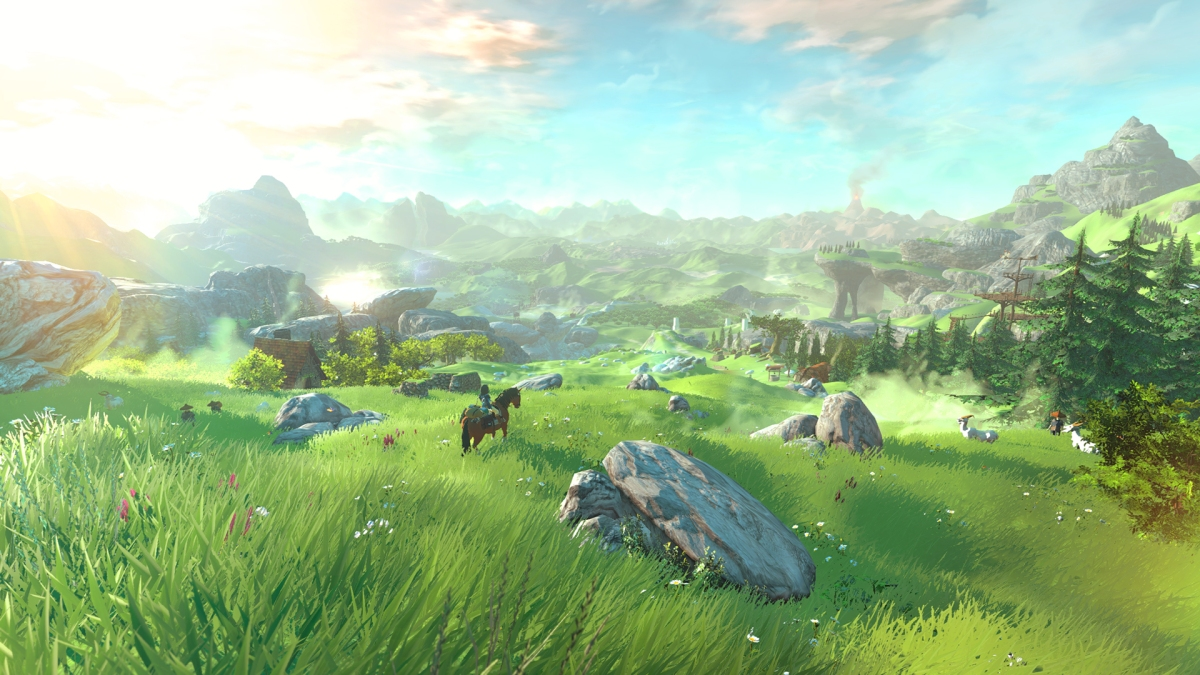 This is the new world of Zelda…