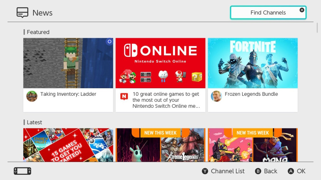 Switch News Features